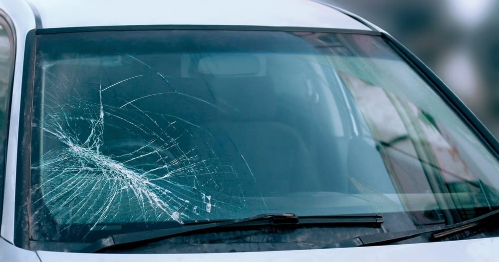 Windshield damage