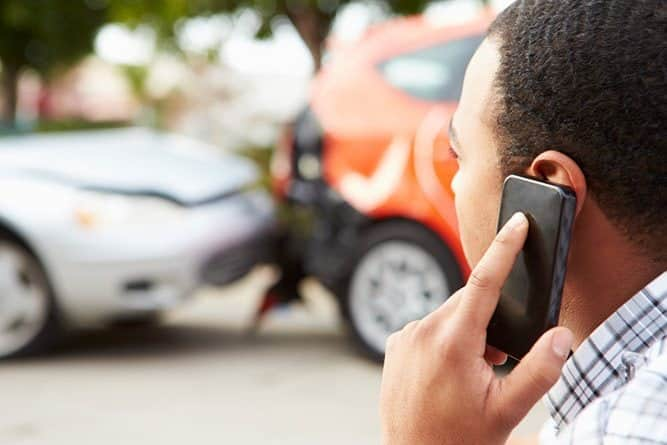 Calling Insurance After Auto Accident