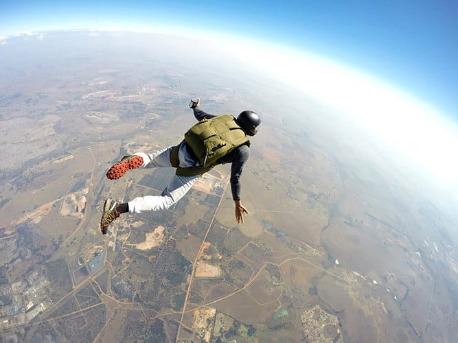 Sky Diving and Assumption of Risk