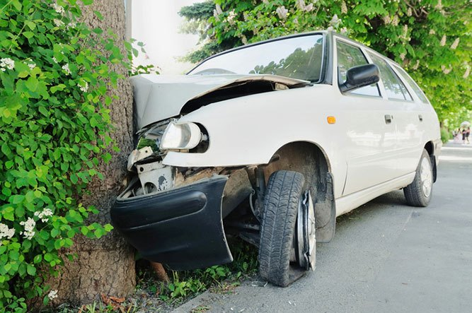 Single Car Accidents & Liability | Adam S  Kutner & Associates