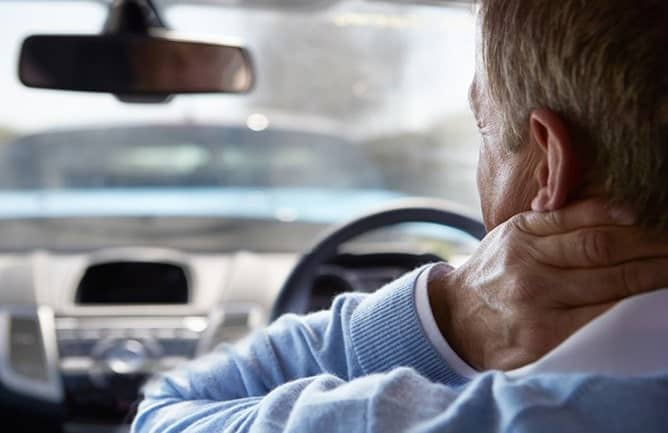 Whiplash Injury After Car Accident